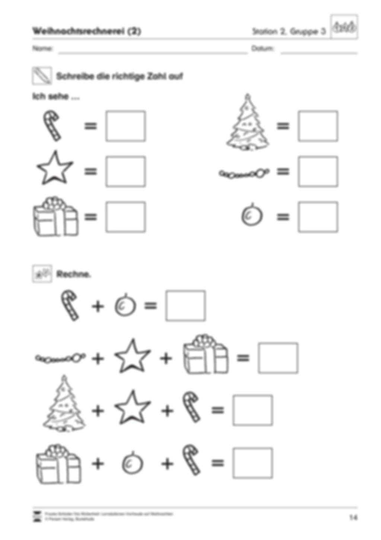 Stations-/Gruppenarbeit zum Thema Weihnachten mit verschiedenen Fächerschwerpunkten Preview 14