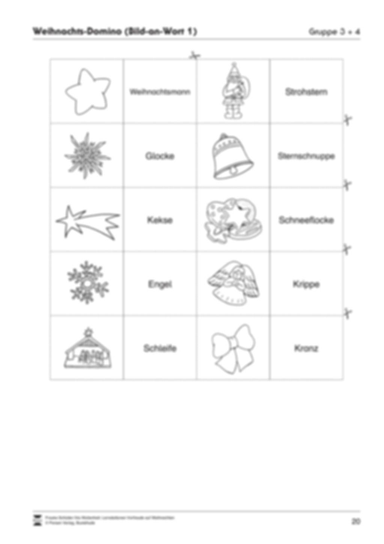 Stations-/Gruppenarbeit zum Thema Weihnachten mit verschiedenen Fächerschwerpunkten Preview 20
