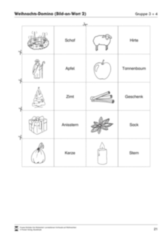 Stations-/Gruppenarbeit zum Thema Weihnachten mit verschiedenen Fächerschwerpunkten Preview 21