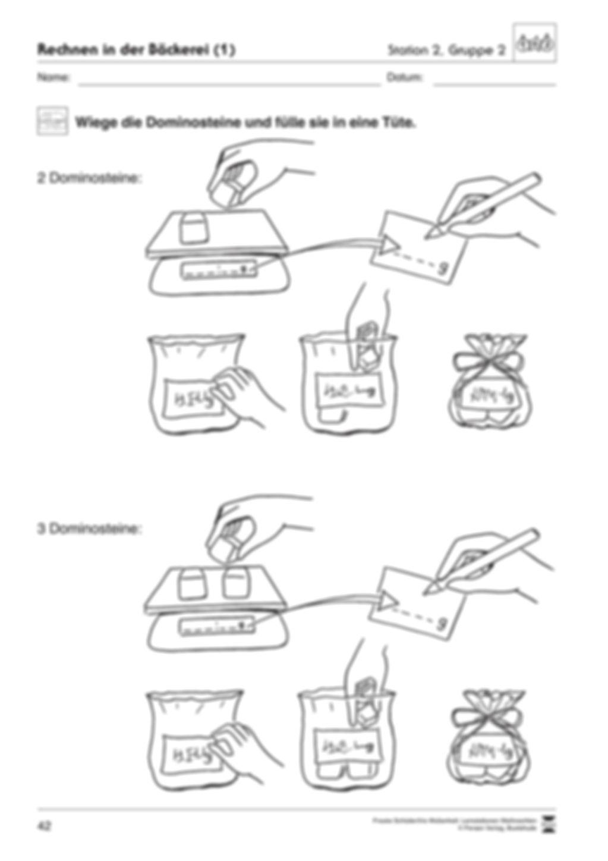 Stationsarbeit zum Thema Weihnachtsbäckerei Preview 10