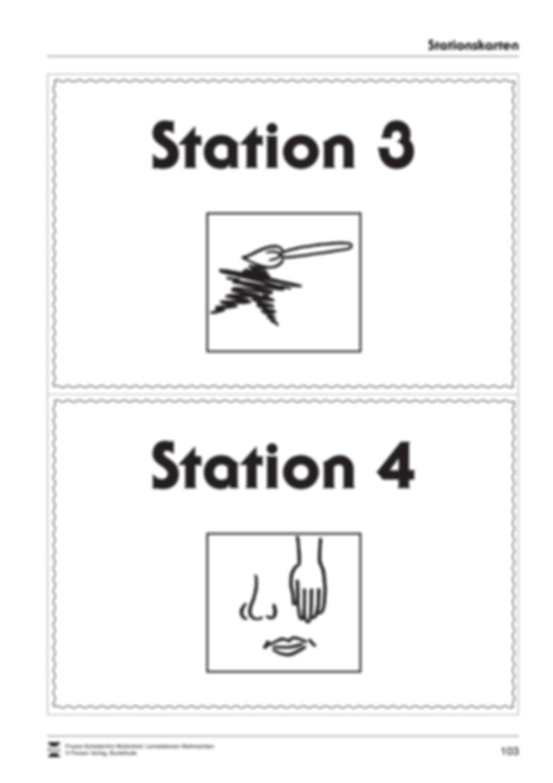 Stationsarbeit zum Thema Lichterglanz und Kerzenschein Preview 20