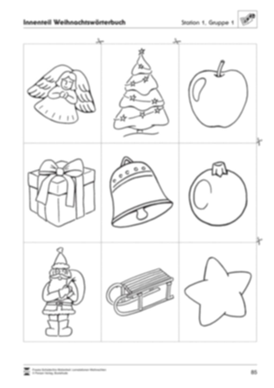 Stationsarbeit zum Thema Vorfreude auf Weihnachten Preview 6