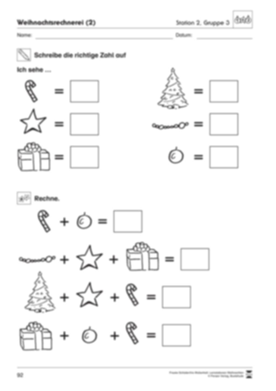 Stationsarbeit zum Thema Vorfreude auf Weihnachten Preview 13