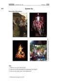 Englisch, Kompetenzen, Themen, Interkulturelle Kompetenzen, Kommunikative Fertigkeiten, Gesellschaft, Sprechen / speaking, Sitten und Traditionen, summer, vocabulary, pre-reading activities, Gesellschaft