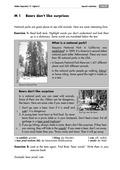 imperative, reading comprehension, national park