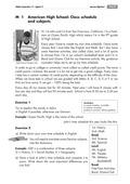 Englisch, Themen, Landeskunde, Alltag, America, Länder, Schule, School System, Germany, high school