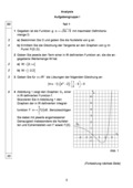 Mathematik, funktionaler Zusammenhang, Analysis, Kurvendiskussion, abituraufgaben, Analysis, Funktionen