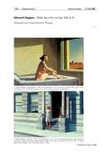 Kunst, Grundlegende Erfahrungsbereiche der Jugendlichen, Verfahren und Techniken, Räume und Perspektiven einer veränderten Welterfahrung, Zeichnen, Malen, skizzieren, Edward Hopper