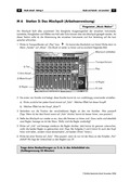 Musik, Bausteine, Elemente, Material, Aufnahmetechnik, Tontechnik
