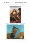 """Kunst, Grundlegende Erfahrungsbereiche der Jugendlichen, Künstlerinnen und Künstler, Verfahren und Techniken, Identität finden und erwachsen werden, Künstler zu """"Eine Identität finden und erwachsen werden"""", Zeichnen, Max Ernst, skizzieren, leonardo da vinci"""