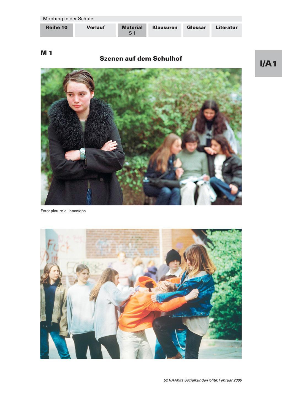 Mobbing in der Schule – von täglichen Gemeinheiten und wie sie sich auswirken M1-M2 Preview 1