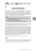 Politik, Internationale Entwicklungen im 21. Jahrhundert, Konflikte um Ressourcen, Ressourcenknappheit, ressource