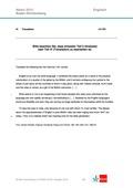 Englisch, Kompetenzen, Kommunikative Fertigkeiten, Interkulturelle Kompetenzen, Sprachmittlung / mediating, Schreiben / writing, Translation