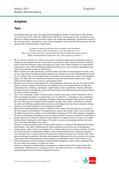 Englisch_neu, Sekundarstufe II, Verfügung über sprachliche Mittel, Mündliche Produktion und Rezeption, Gesellschaft, Interpretation