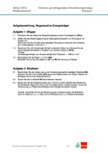 Chemie, Organische Chemie, Allgemeine Chemie, Reaktionsgleichungen aufstellen, biogas