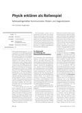 Physik, Wärmelehre, Thermodynamik, Kompetenzen