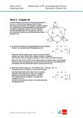 Mathematik, Mathematik_neu, Raum & Form, Sekundarstufe II, analytische Geometrie, Raum und Form, Lagebeziehung, Vektorrechnung, abituraufgaben