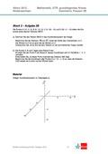 Mathematik, Mathematik_neu, Raum & Form, Sekundarstufe II, analytische Geometrie, Raum und Form, Lagebeziehung, Vektorrechnung, Vektoren, abituraufgaben