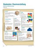 Mathematik, Geometrie, räumliche vorstellung, Material