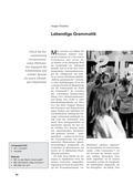 Latein, Methoden und Kompetenzen, Grammatik, Sprachreflexion