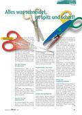 Kunst, Material, Papiere und Pappen, Werkzeug, Scheren und Messer