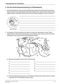 Erdkunde, Naturbedingungen und -ereignisse, Landschaftsformen und -prozesse, Geologie, Plattentektonik, Kontinentalverschiebung, Subduktion, mittelatlantischer rücken