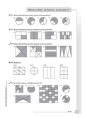 Mathematik, Zahlen & Operationen, Arithmetik, Bruchrechnung, hausaufgaben, darstellungen