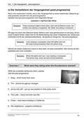 Englisch, Grammatik, Zeiten / tenses, past progressive, grammatikübungen, vergangenheitsform