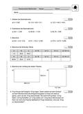 Mathematik, Zahlen & Operationen, Grundrechenarten, Bruchrechnung, Dezimalbruch, textaufgaben, Klassenarbeiten