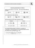 Mathematik, Zahlen & Operationen, Bruchrechnung, Dezimalbruch, Zahlenstrahl, selbstgesteuertes lernen