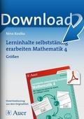 Mathematik, Größen & Messen, Gewicht, Zeit, Zeiteinheiten, größen, geldwerte, selbstgesteuertes lernen