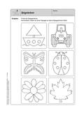 Mathematik, Geometrie, funktionaler Zusammenhang, Raum & Form, Winkel, Spiegelachse, Analysis, Symmetrie, rechter Winkel, Geodreieck