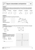 Mathematik, Geometrie, dreiecke, vierecke, winkelberechnungen, lernerfolgskontrolle, selbstgesteuertes lernen, Figuren
