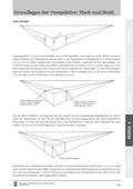 Kunst_neu, Sekundarstufe I, Flächiges Gestalten, Darstellung von Räumlichkeit, Perspektiven, Fluchtpunktperspektive
