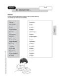 Französisch, Grammatik, Verben, Zeitformen, unregelmäßige Verben/ verbes irréguliers, Présent, Verben auf -ir, Konjugation, Verben, Infinitiv
