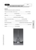 Französisch, Grammatik, Themen, Zeitformen, Landeskunde, passé composé, Frankreich, Paris, Verben