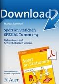 Sport, Turnen, sportarten, stationentraining