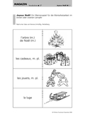 Französisch, Didaktik, Themen, Sprache, Sprechkompetenz, Übungsformen, Alltag, Kultur, Aussprache, Wortschatzarbeit, Jahr, Feiertage, Jahreszeiten, wiederholung, weihnachten- noel