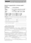 Französisch, Grammatik, Didaktik, Modus, Zeitformen, Übungsformen, Subjonctif, Révisions/ Wiederholung, Didaktik