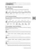 Musik_neu, Sekundarstufe I, Musiktheorie, Tonsystem, Intervalle, Intervalle notieren, Notierte Intervalle erkennen, Terz, Sekunde, Quarte, Quinte, groß, klein