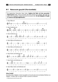 Musik, Bausteine, Elemente, Material, Klangmaterial, Notation, Klangeigenschaften, notenwerte