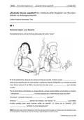 Spanisch, Verfügbarkeit sprachlicher Mittel, Grammatik, grammatische Strukturen und Formen, regelmäßige Konjugation von Verben