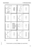 Mathematik, Geometrie, Satz des Pythagoras, Kathetensatz, höhensatz, domino