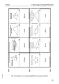 Mathematik, Geometrie, Raum & Form, Flächeninhalt, dreiecke, umfang, domino