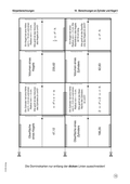 Mathematik, Raum & Form, Körperberechnung, Kegel, Zylinder, körperberechnung, domino