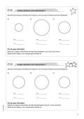Mathematik, Geometrie, Raum & Form, Mittelpunkt, ebene figuren, kreis, radius, Zeichnen