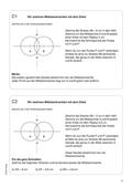 Mathematik, Geometrie, Zirkel, Mittelsenkrechte, konstruieren