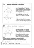 Mathematik, Geometrie, Geodreieck, Mittelsenkrechte, konstruieren