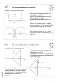 Mathematik, Geometrie, Zirkel, Geodreieck, senkrechte, konstruieren