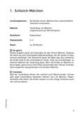 Deutsch_neu, Sekundarstufe II, Primarstufe, Sekundarstufe I, Literatur, Literarische Gattungen, Epische Kurzformen, Märchen, Literatur